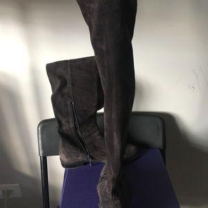Stuart Weitzman Shoes - Stuart Weitzman suede over the knee boots, 7.5M